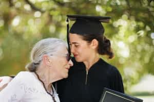 aging-insight-grandmother-with-graduating-granddaughter