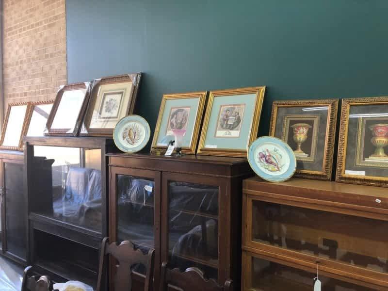 Antique Paintings,antique photos, antique bookshelves