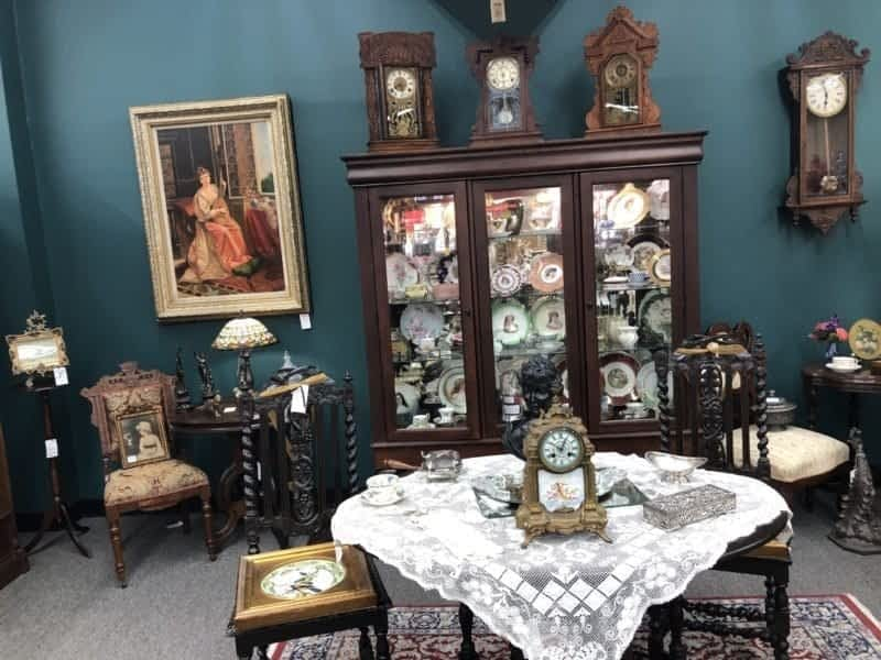 AE Anitque Clocks and Empire Furniture