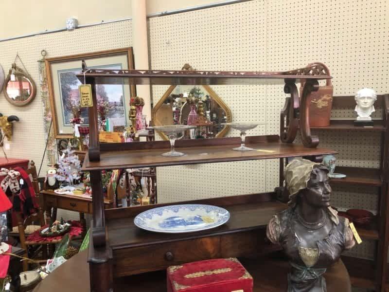 Antique Shelves