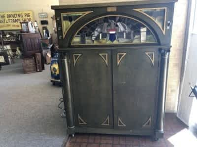 AE Antique Stained Glass Juke Box